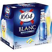 Bière blanche 1664 x12