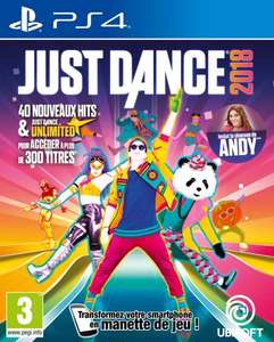 Sélection de jeux Just Dance - Ex : 2018 sur PS4 / PS3 / Xbox One / Wii / Wii U