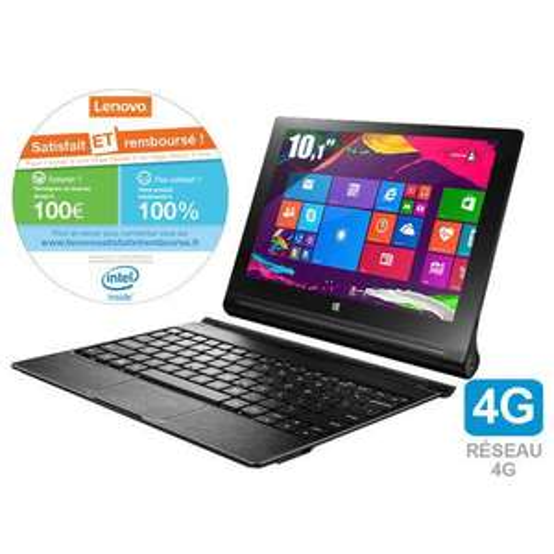 """MAJ2 ~MAJ ~ Tablette 10.1"""" Lenovo Yoga Tablet 2-10-51 - 32 Go - 4G (via ODR de 50€) (code promo 30€)"""