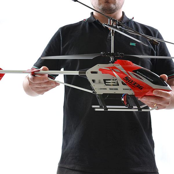 Hélicoptère radio-commandé Syma S033G 77.5cm - INITIATION ready to fly avec code promo