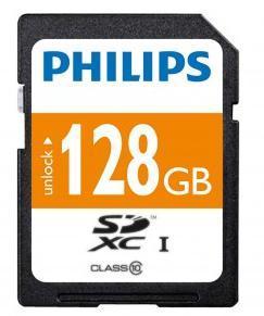 Carte SDXC Philips 128 Go Classe 10