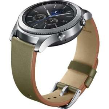 Bracelet Samsung Galaxy Watch Classic - Cuir Vert Olive