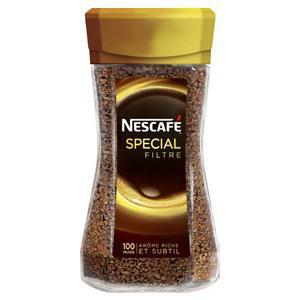 3 flacons de Nescafé soluble spécial filtre 200g