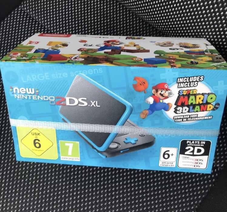 Console New Nintendo 2DS XL + Jeu Super Mario 3D Land -  Caen Côte de Nacre (14)