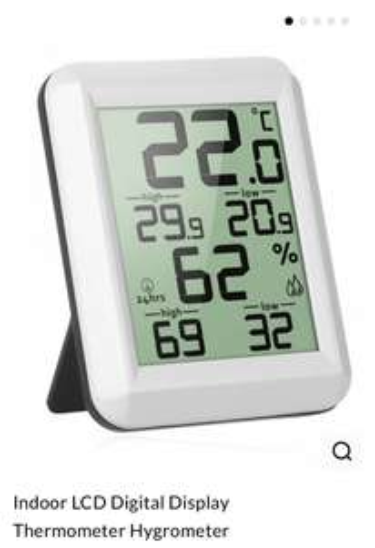 Hygromètre et Thermomètre d'Intérieur dresslily