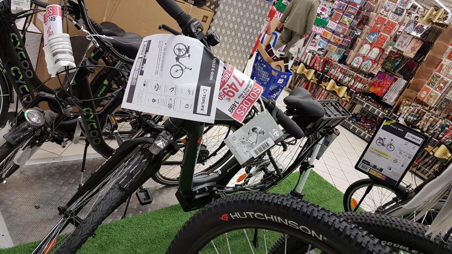 Vélo de ville électrique TopLife 8500 - Montigny-le-Bretonneux (78)