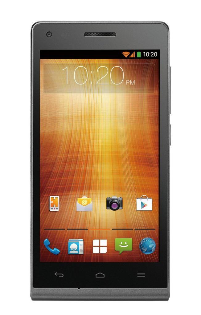 "Smartphone 4.5"" Huawei Ascend G535 Smartphone 8Go LTE - Argent"