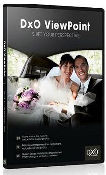 Logiciel DxO ViewPoint 1 sur PC et Mac gratuit