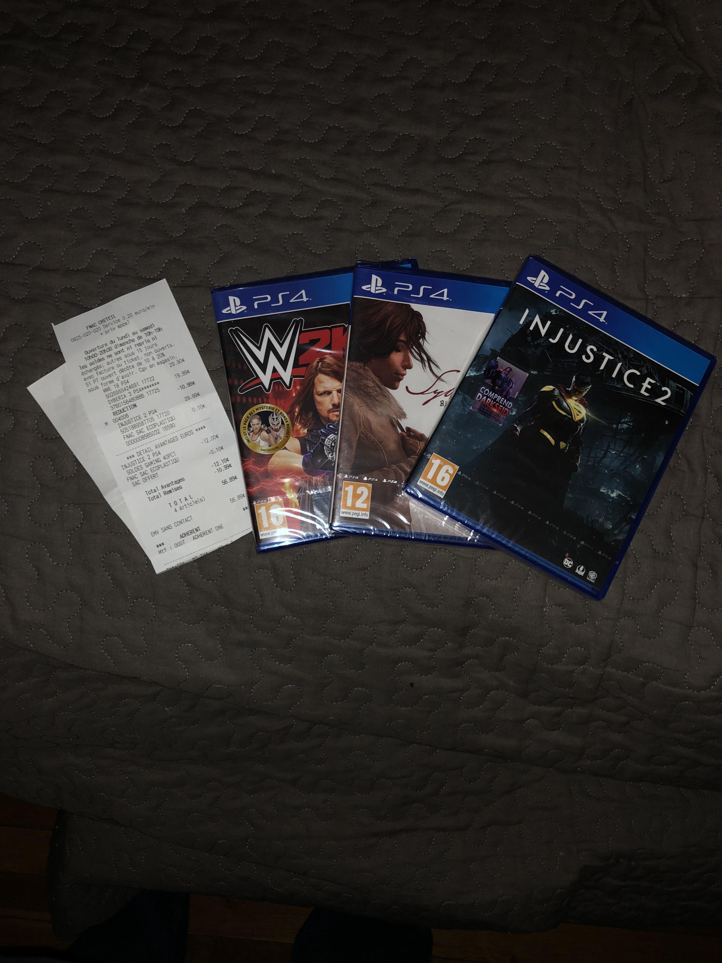 Sélection de jeux vidéo sur PS4 en promotion - Ex : Syberia III - Créteil (94)
