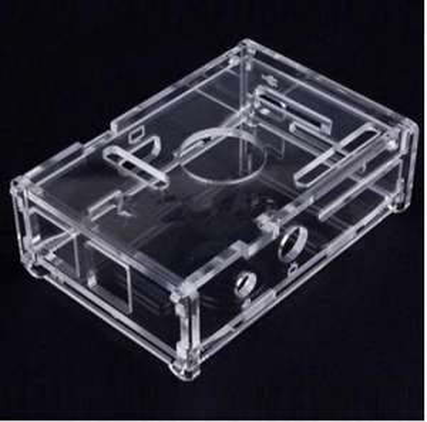 Boitier acrylique transparent pour Raspberry Pi / Raspberry Pi2 / B & B+