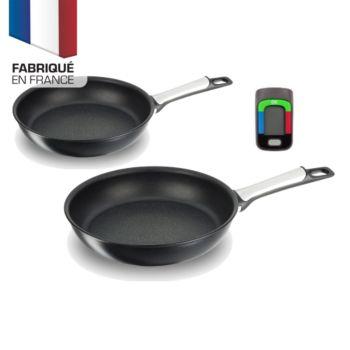 Batterie de Cuisine Tefal Assisteo E5559102 - 1 Poêle +1 casserole