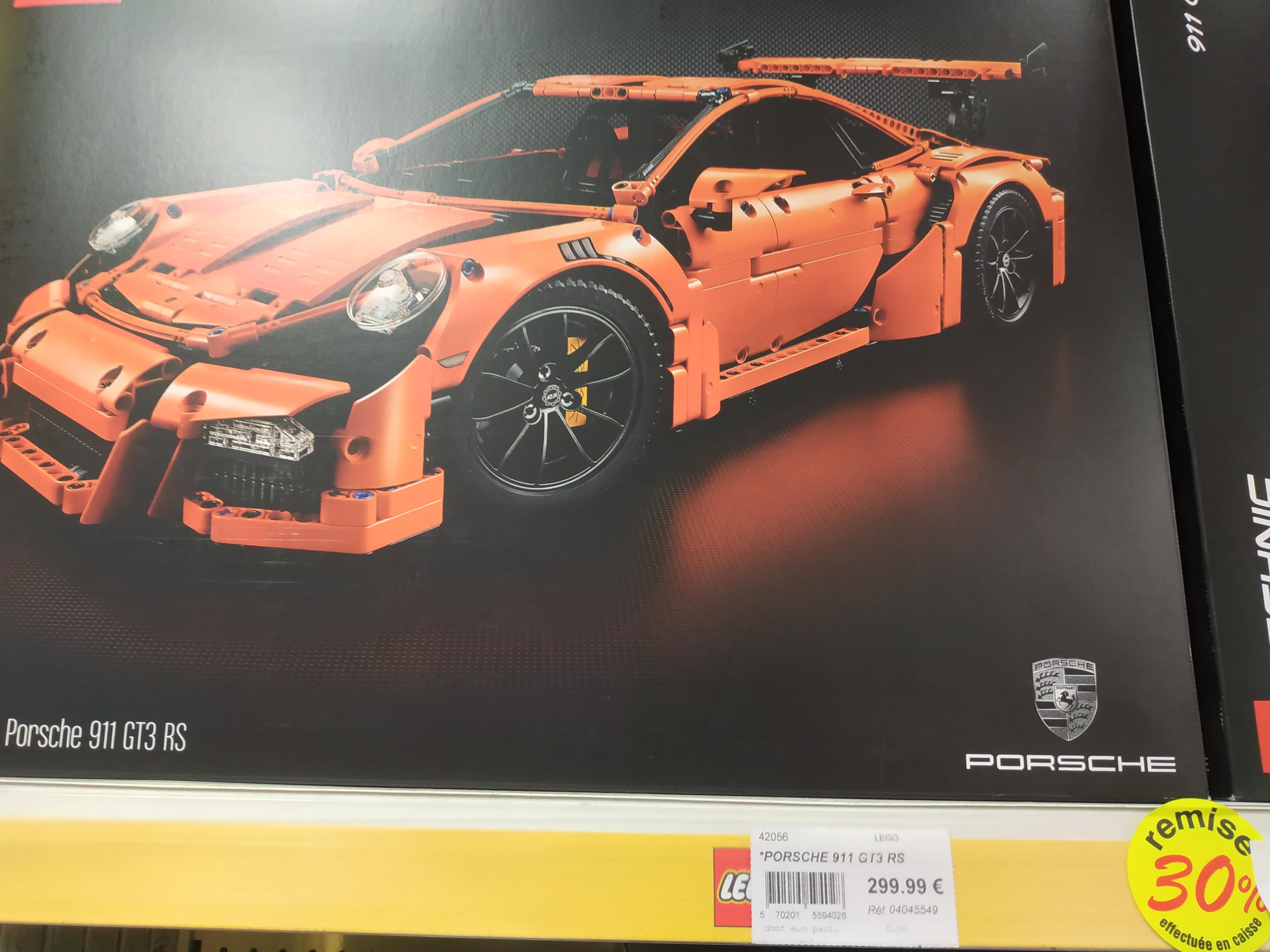 Jeu de Construction Lego Technic 42056 Porsche 911 GT3 - Langueux (22)