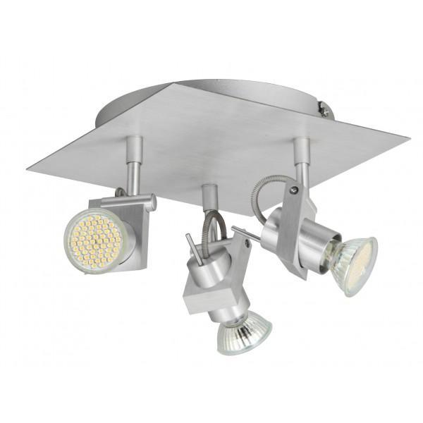 Applique Ranex 3 Spots LED Aluminium