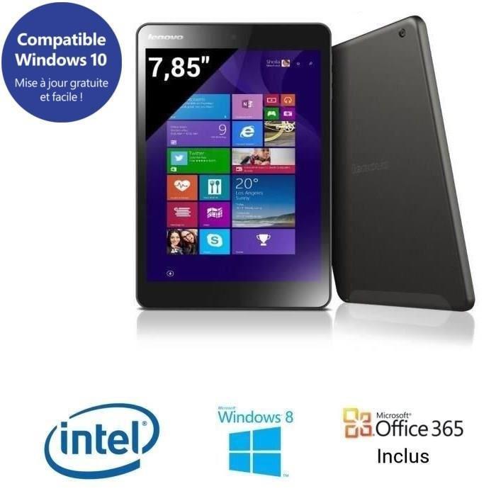 """Tablette 8"""" Lenovo Miix 3-830 + Office 365 (50€ ODR)"""