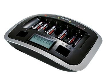 Chargeur de piles avec écran LCD