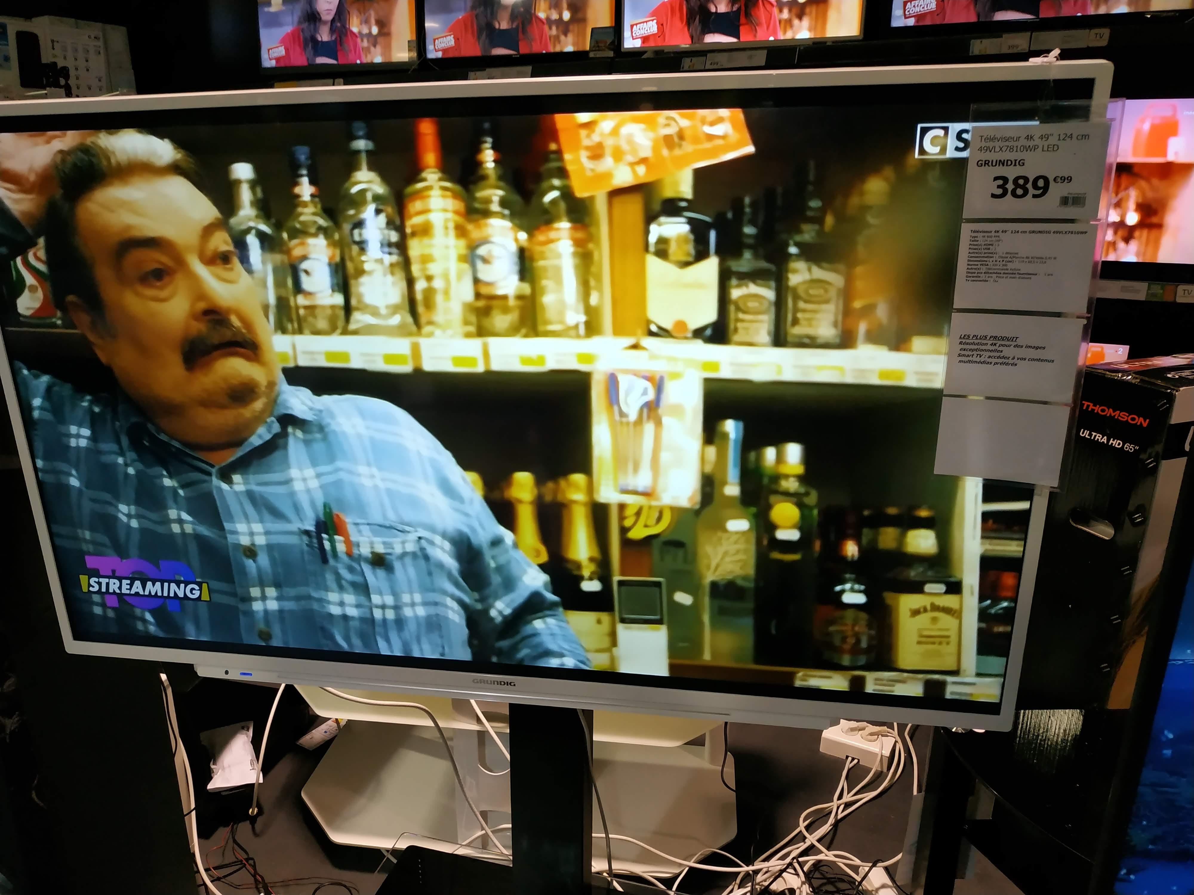 """TV 49"""" GRUNDIG 49VLX7810WP - LED, 4K, Wifi, Smart-TV"""