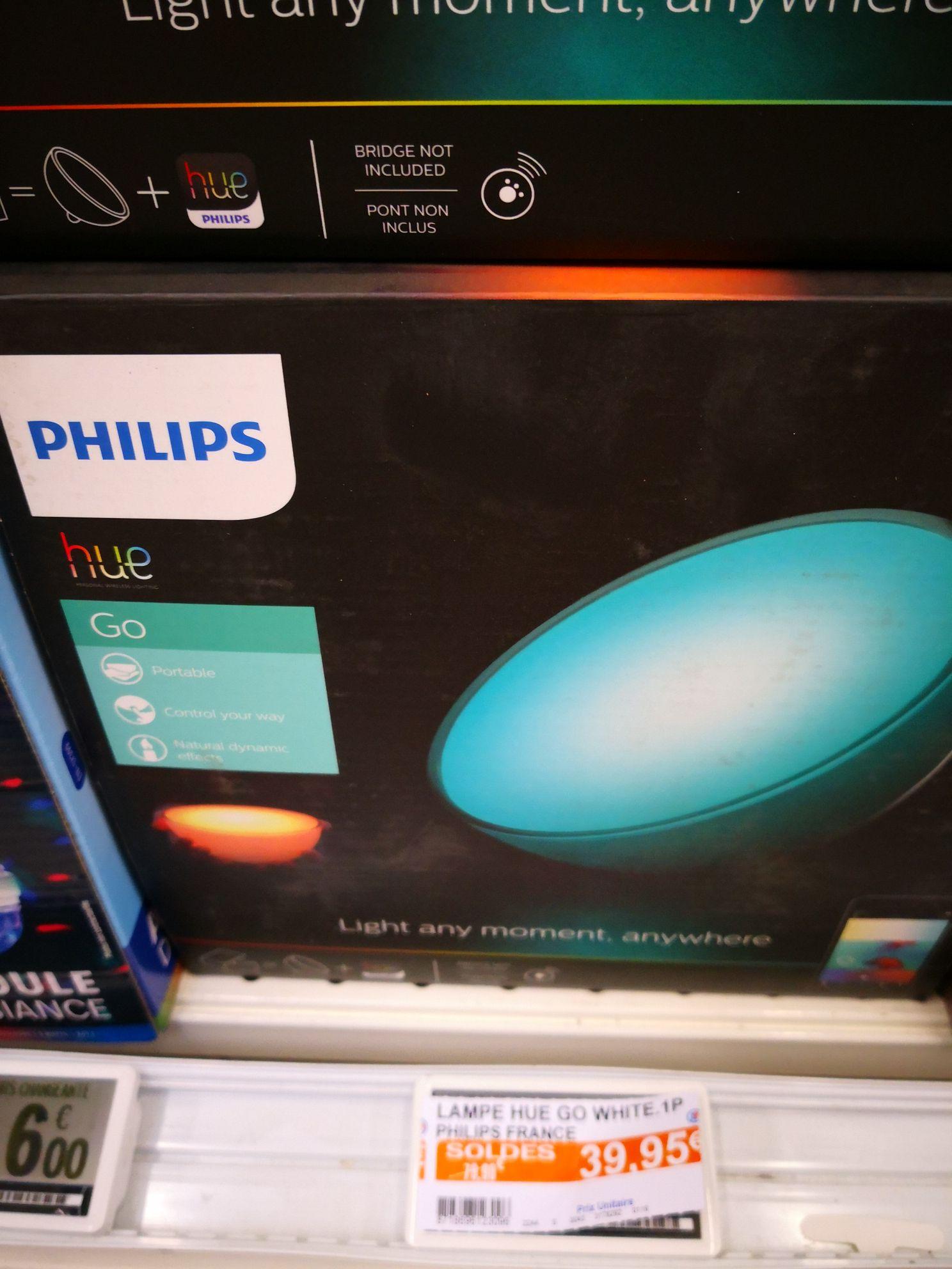 Sélection de produits Philips HUE en promotion - Ex : Philips Hue Go - Saint-Herblain (44)