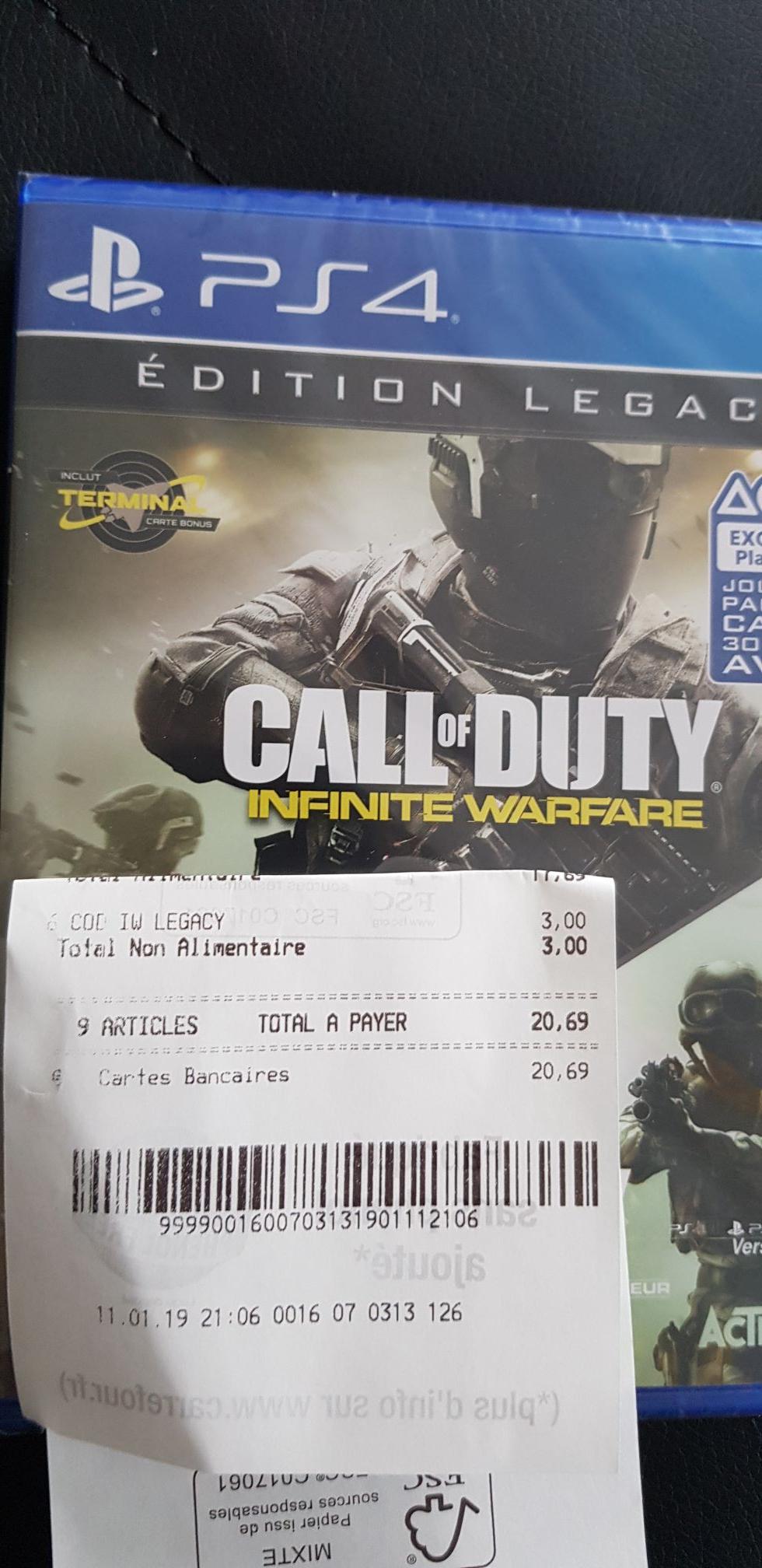 Call of Duty Infinite Warefare sur PS4 ou Xbox One - Venissieux (69)