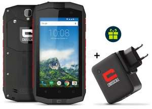 Pack Smartphone Crosscall Trekker-M1 Core + Chargeur Power-Pack