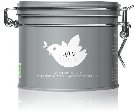 40% de réduction sur une sélection de thés Løv Organic - Ex : Winter in Løv