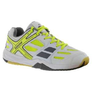 Chaussures Babolat Mixte Indoor Shadow Club Blanc - Taille 40 et 40.5