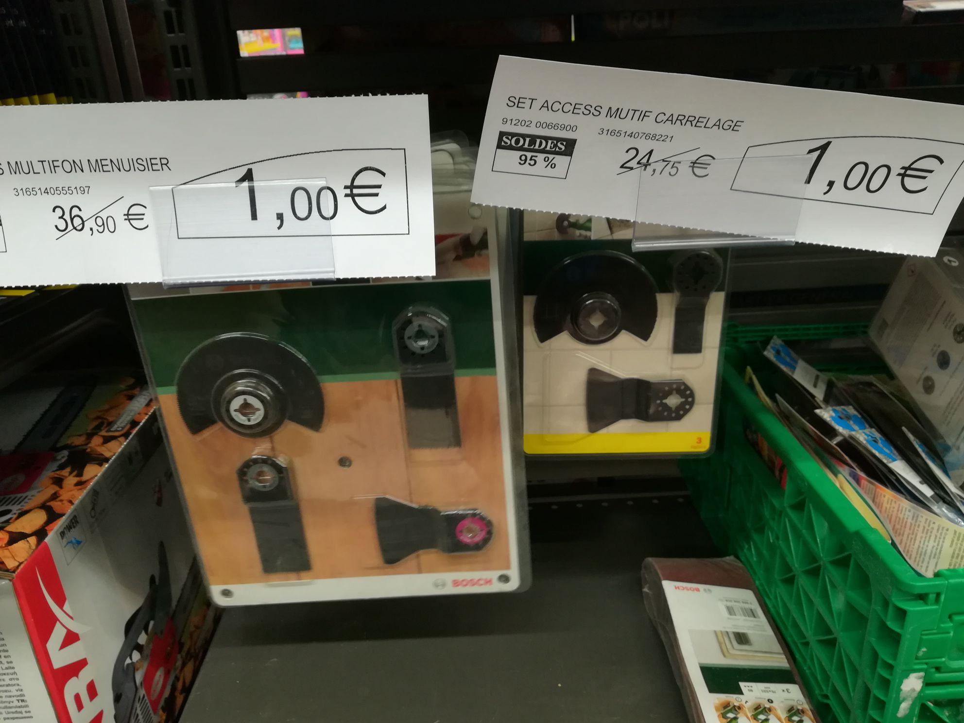 Sélection d'Accessoires Bosch en promotion - Ex : Set de 4 pièces pour carrelage Bosch 2608661695 (Pertuis 84)