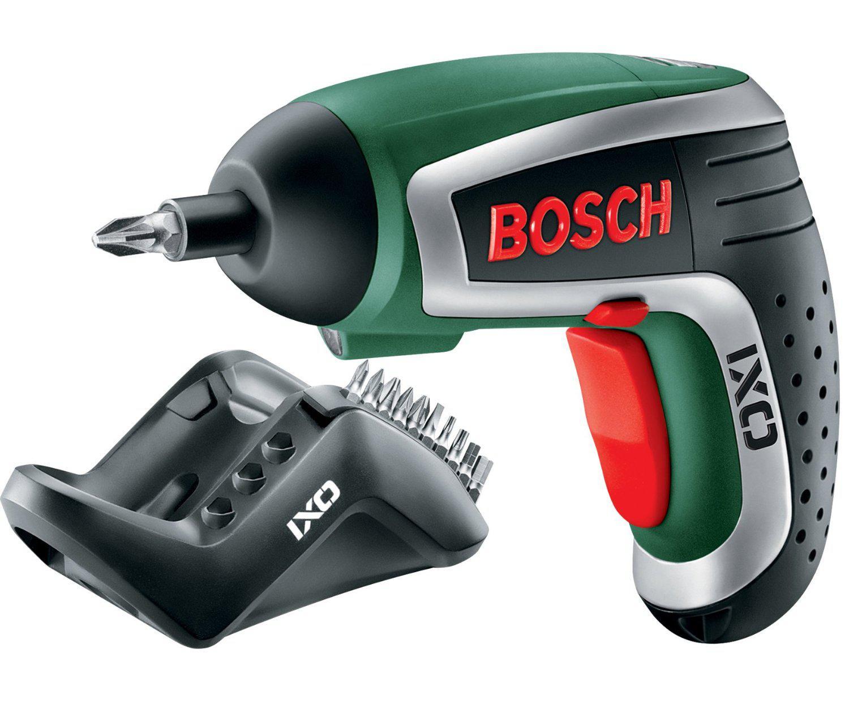 Visseuse Sans Fil Bosch IXO IV avec 10 Embouts et Chargeur