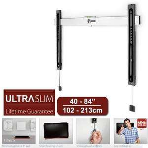 """Support TV Mural Fixe ONE  FOR All SV6610 ultra slim 13mm pour TV de 40 à 84"""""""