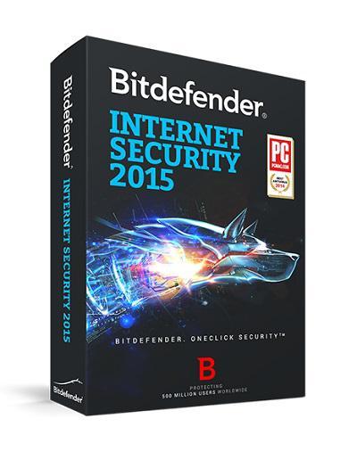 Logiciel Bitdefender Internet Security 2015 gratuit (licence de 6 mois)
