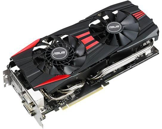 Carte graphique AMD  Asus  R9 290 - 4 Go GDDR5