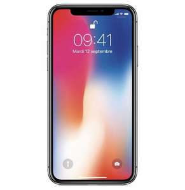 "Smartphone 5.8"" Apple iPhone X - 64 Go, Gris sidéral"