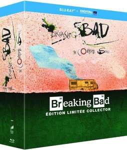 Coffret Blu-ray: Breaking Bad - Intégrale - Edition limitée Collector