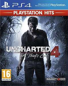 Uncharted 4 Thief's End Hits sur PS4