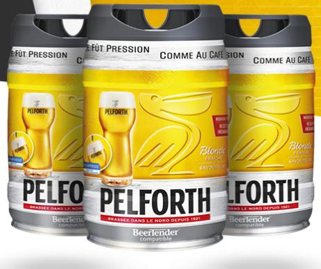 Pack de 3 fûts Bière Pelforth