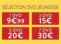 Sélection de 5 dvd jeunesse