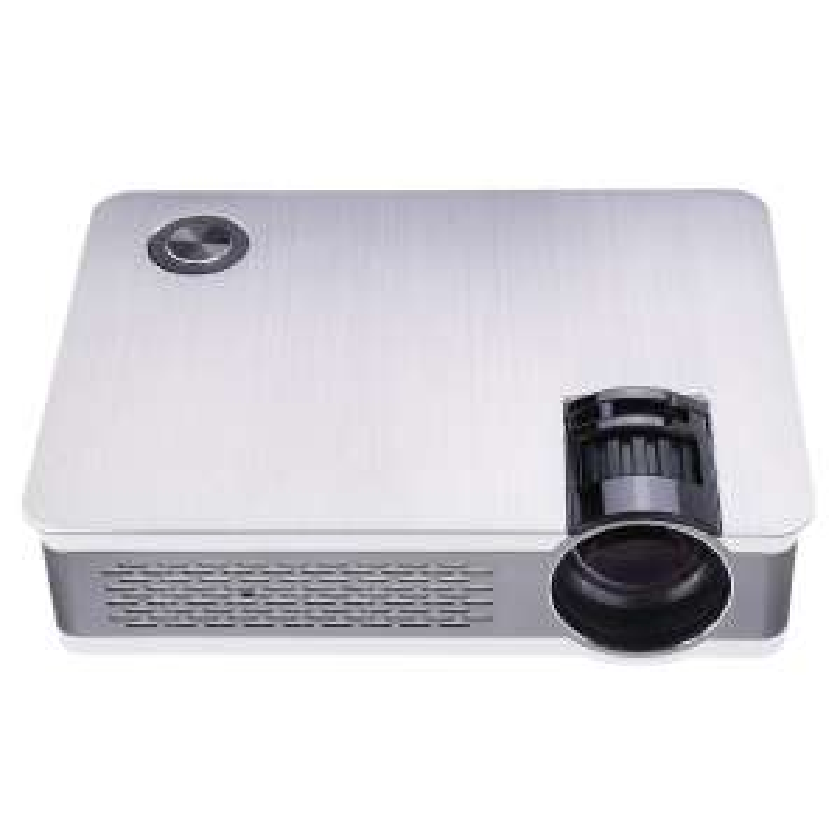 Projecteur LED AUN Akey5 - Full HD 1080p, 3 800 Lumens, Gris