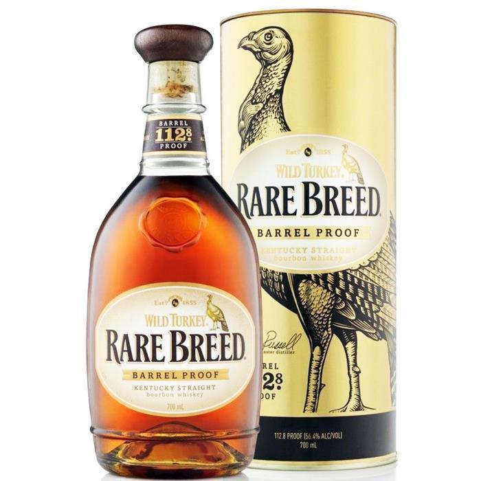 Bouteille de Wild Turkey Rare Breed 56.4% - 70cl