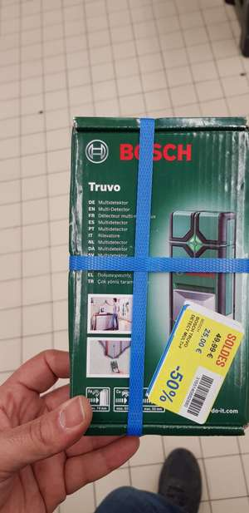 Detecteur  materiaux Bosch - Claye-Souilly (77)