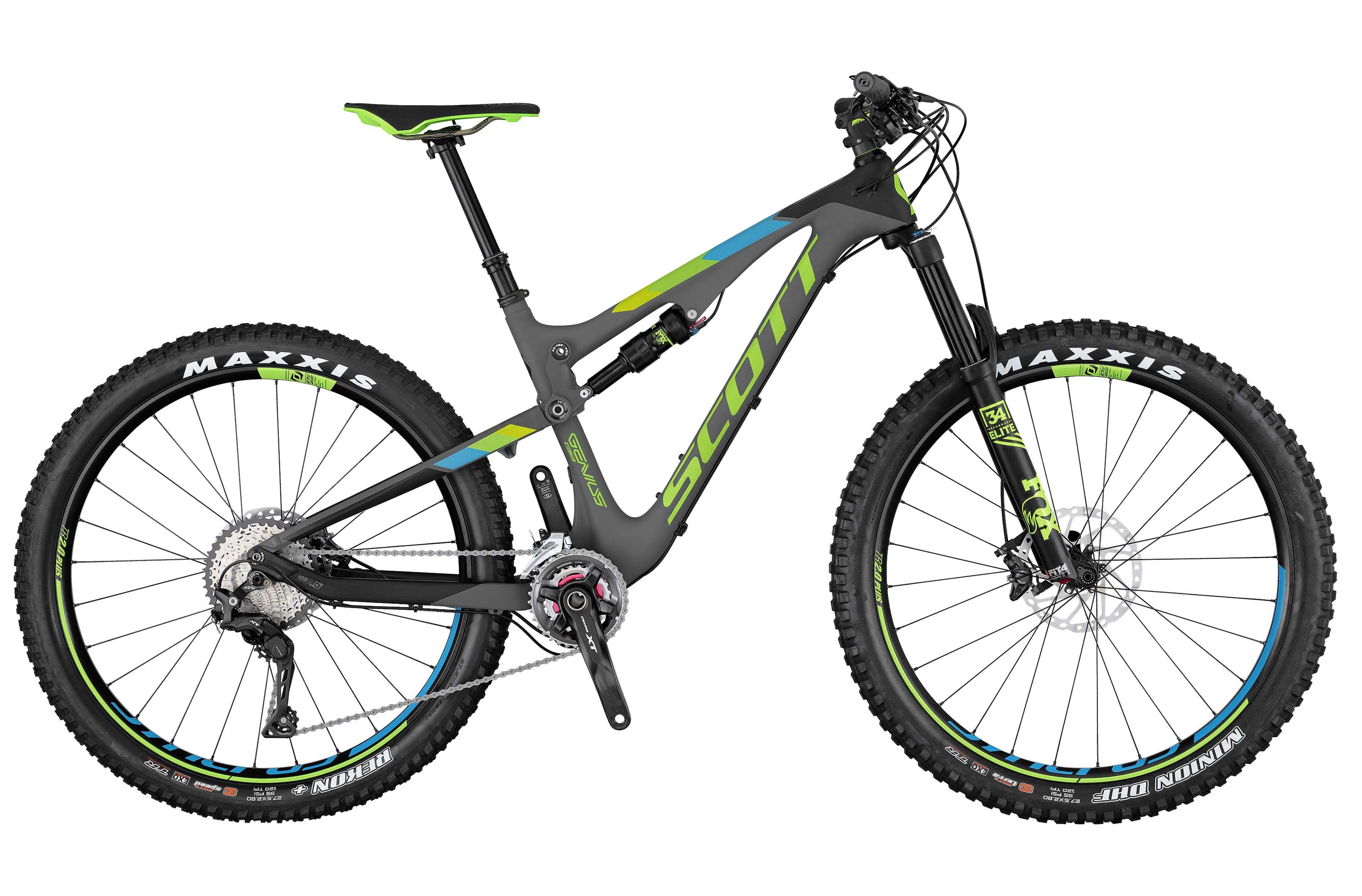 """VTT Scott Genius 710 Plus Carbone 27.5"""" - S et M (startfitness.co.uk)"""
