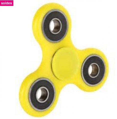 Hand spinner - Jaune