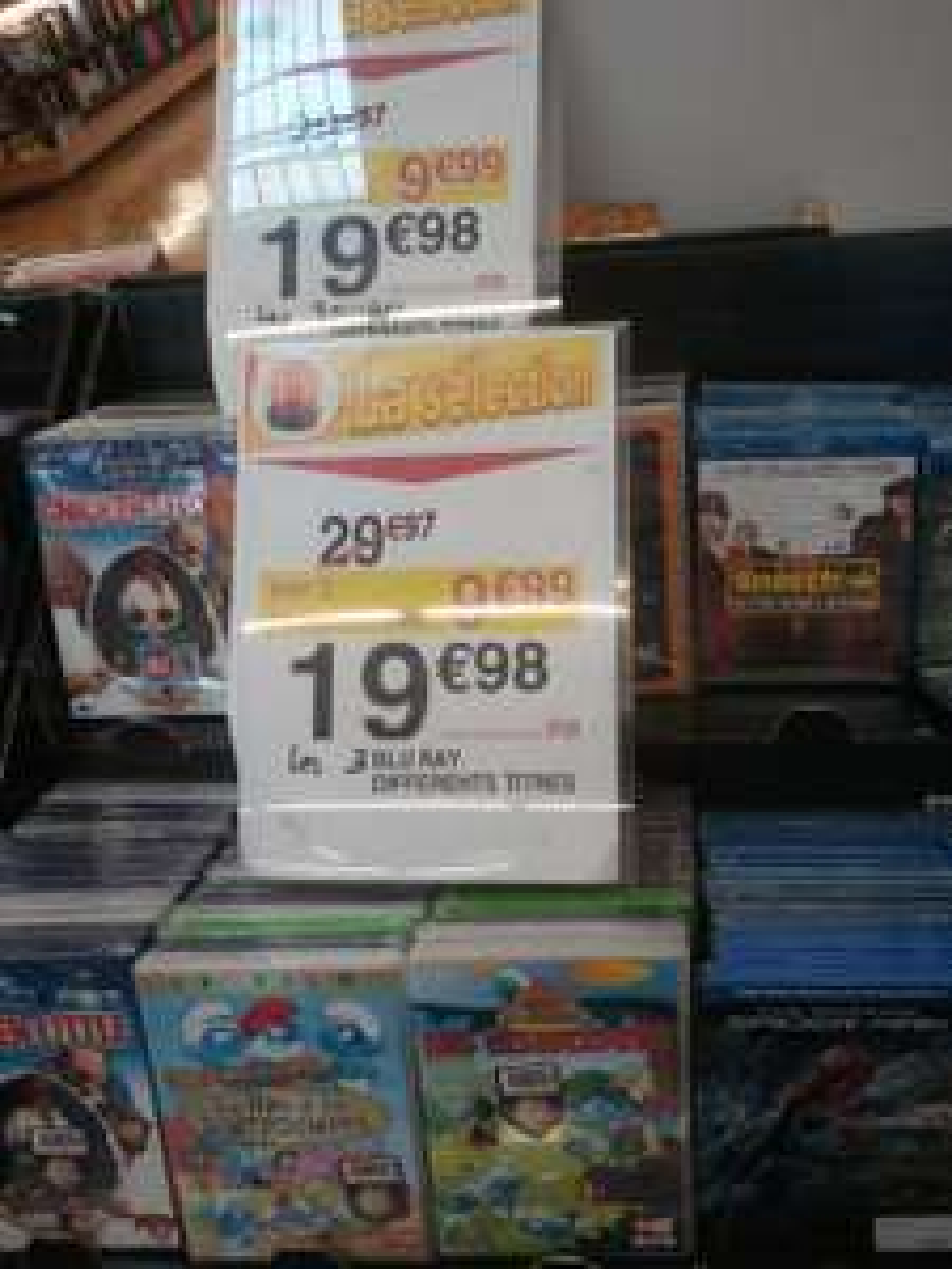 3 Blu-ray (X-Men DoFP, La Planète des Singes L'affrontement...)
