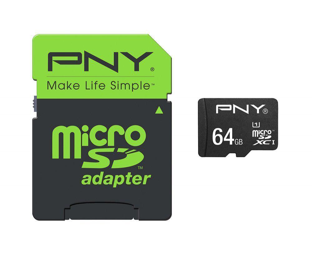 Carte Mémoire MicroSDXC PNY High Performance 64 Go Classe 10 UHS-1 U1