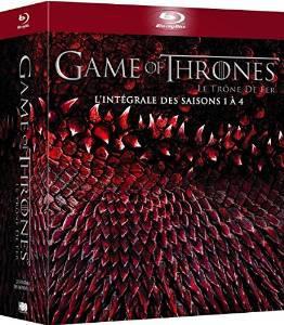 Coffret Blu-Ray Game of Thrones - L'intégrale des saisons 1 à 4