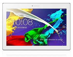 """Tablette tactile 10""""  Lenovo Tab 2 A10-70 Full HD Blanc (16 Go, Android)"""