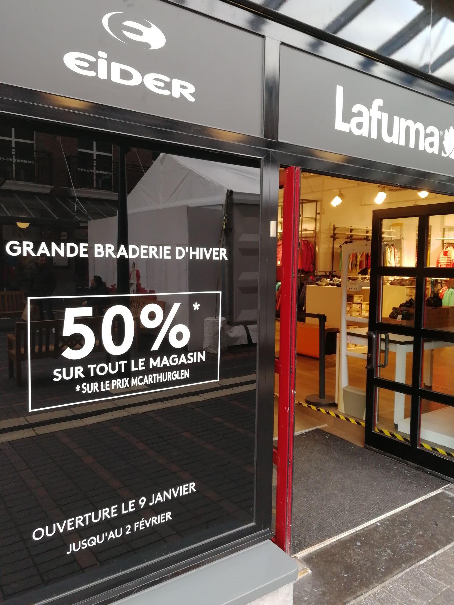 50% de réduction sur tout le magasin - Roubaix (59)