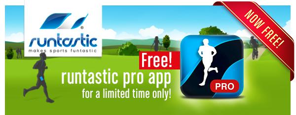 Runtastic PRO sur IOS gratuit et sur Android