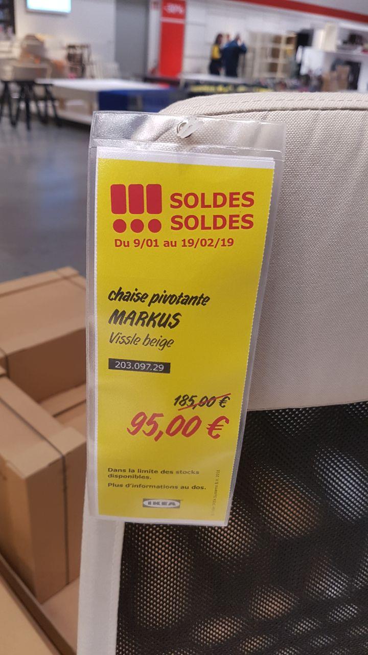 Chaise de bureau Markus - Mulhouse (68)