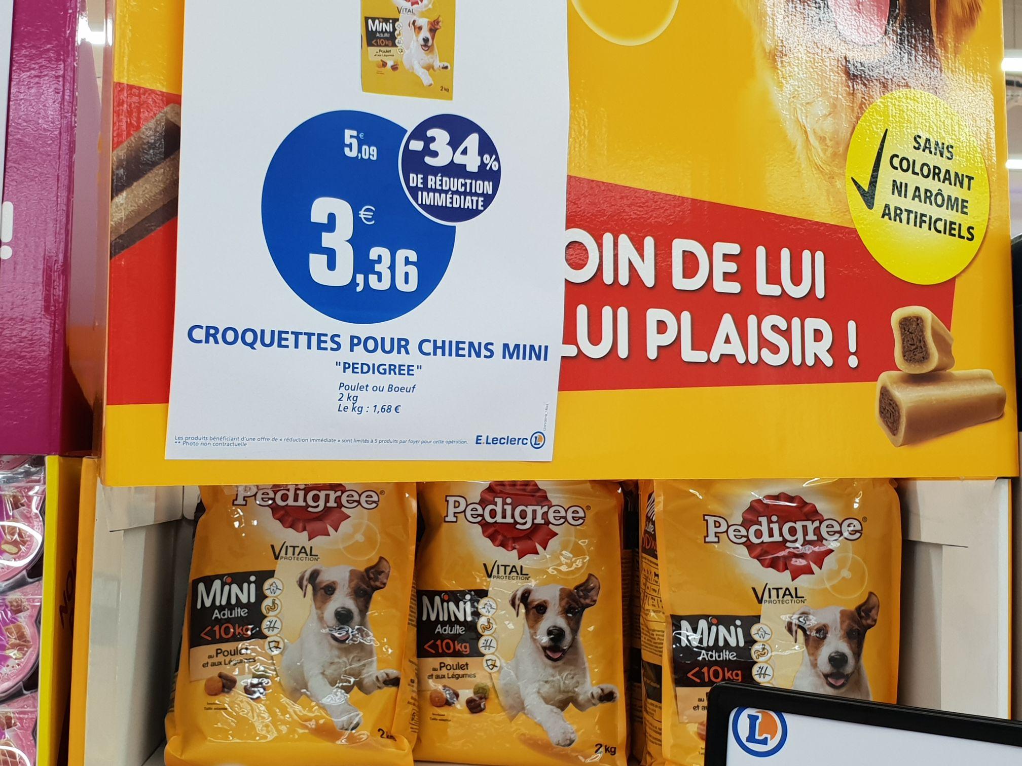 Sélection de produits alimentaires pour chien en promotion - Fleury les Aubrais (45)