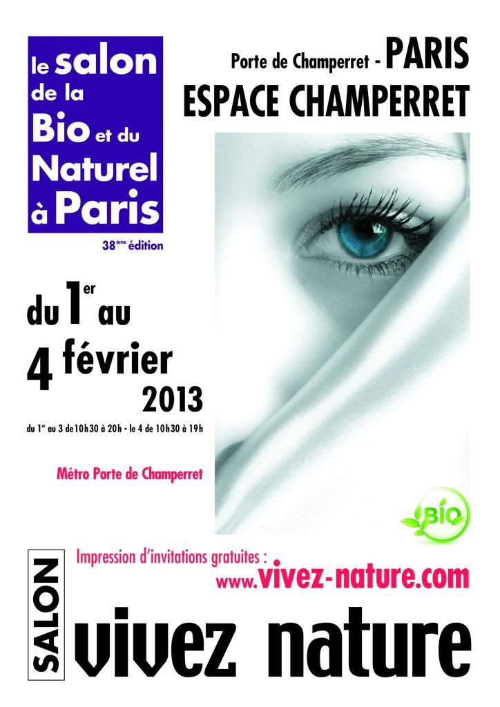 Invitation gratuite salon VIVEZ NATURE PARIS