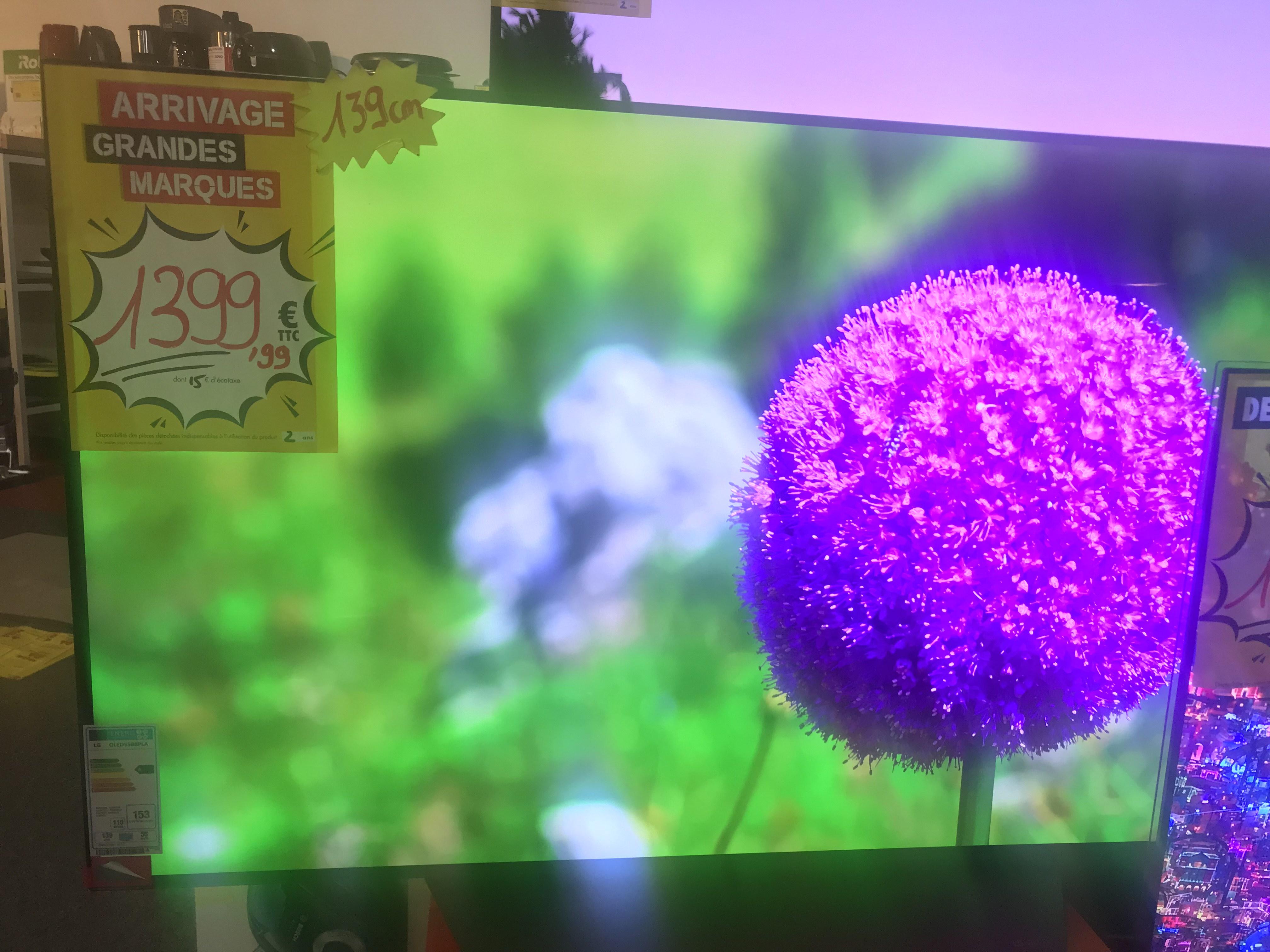"""Tv 55"""" LG 55B8PLA OLED - MDA Le pontet (84)"""